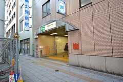都営三田線・板橋本町駅の様子。(2015-12-08,共用部,ENVIRONMENT,1F)