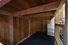 ベッドの下も収納スペースとして使えます。(103号室)(2016-08-08,専有部,ROOM,1F)