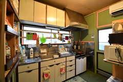 キッチンの様子。(2017-07-04,共用部,KITCHEN,1F)
