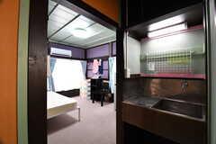 専有部の様子。2Fは全室、洗面台付きです。(203号室)(2017-07-04,専有部,ROOM,2F)