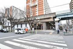 都営三田線・西台駅の様子。(2017-03-15,共用部,ENVIRONMENT,1F)