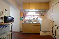 キッチンの様子。(2015-06-22,共用部,KITCHEN,5F)