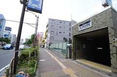 各線・下赤塚駅の様子。(2015-06-22,共用部,ENVIRONMENT,1F)