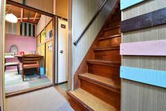 階段の様子。(2016-12-20,共用部,OTHER,1F)