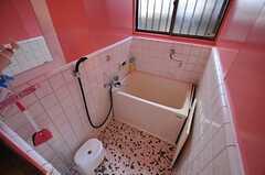 バスルームの様子。(2014-01-07,共用部,BATH,1F)