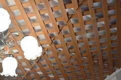 斬新な天井。(102号室)(2014-01-07,専有部,ROOM,1F)