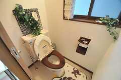 トイレの様子。(2014-03-24,共用部,TOILET,2F)