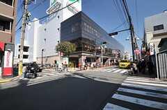 東武東上線・上板橋駅前の様子。(2014-03-24,共用部,ENVIRONMENT,1F)