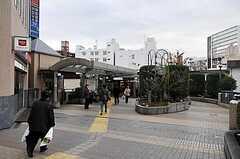 東武東上線・成増駅の様子2。(2015-02-21,共用部,ENVIRONMENT,1F)