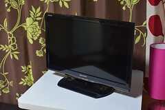 TVは各部屋に設置されています。(101号室)(2015-04-02,専有部,ROOM,1F)