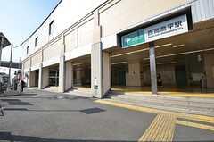 都営三田線・西高島平駅の様子。(2015-04-02,共用部,ENVIRONMENT,1F)