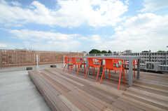屋上の様子。(2015-06-29,共用部,OTHER,5F)