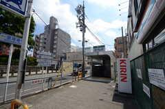 都営三田線・志村坂上駅の様子。(2015-06-29,共用部,ENVIRONMENT,1F)