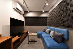防音室の様子2。シアタールームとしても使えます。(2021-07-05,共用部,OTHER,1F)