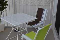 テーブルとチェアの様子。(2012-01-10,共用部,OTHER,2F)
