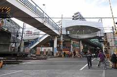 東武東上線・大山駅の様子。(2012-01-10,共用部,ENVIRONMENT,1F)