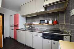 キッチンの様子。(2013-01-17,共用部,KITCHEN,2F)
