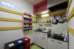 キッチンの様子。2011、2012号室共用です。(2020-06-15,共用部,KITCHEN,2F)