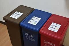 ゴミ箱の様子。(2020-06-15,共用部,KITCHEN,2F)