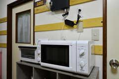 キッチン家電の様子。(2020-06-15,共用部,KITCHEN,2F)