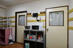 ドアの先は専有部になります。(2020-06-15,共用部,OTHER,2F)