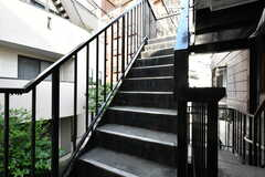 階段の様子。(2020-06-15,共用部,OTHER,2F)