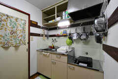 キッチンの様子。2021、2022号室共用です。(2020-06-15,共用部,KITCHEN,2F)