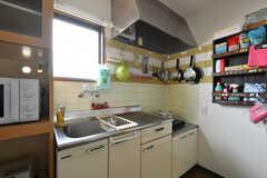 キッチンの様子。(2020-06-15,共用部,KITCHEN,3F)