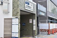 地下鉄赤塚駅の様子。(2020-06-15,共用部,ENVIRONMENT,1F)