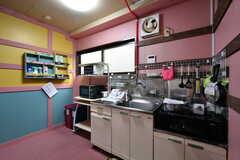 キッチンの様子2。(2020-10-13,共用部,KITCHEN,1F)