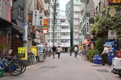 東武東上線・下赤塚駅前の様子。(2020-10-13,共用部,ENVIRONMENT,1F)