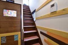 階段の様子。(2019-11-01,共用部,OTHER,1F)