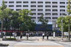 都営三田線・高島平駅前の様子。(2019-10-01,共用部,ENVIRONMENT,1F)