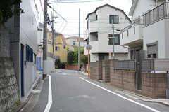 周辺は住宅街です。(2017-08-29,共用部,ENVIRONMENT,1F)