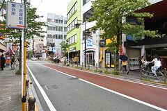 各線・下赤塚駅近くの商店街。(2017-08-29,共用部,ENVIRONMENT,1F)