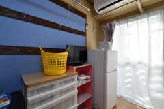 冷蔵庫が設置されています。(101号室)(2019-02-07,専有部,ROOM,2F)