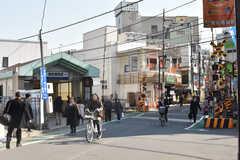東武東上線・東武練馬駅の様子。(2018-02-15,共用部,ENVIRONMENT,1F)