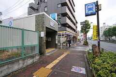各線・地下鉄赤塚駅の様子。(2012-10-18,共用部,ENVIRONMENT,1F)