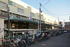 都営三田線・蓮根駅の様子。(2016-03-01,共用部,ENVIRONMENT,1F)