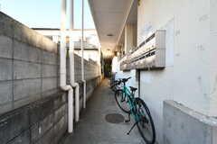 シェアハウスは通りに面した建物の奥にあります。(2020-12-21,共用部,OTHER,1F)