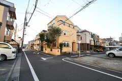 周辺は静かな住宅街です。(2020-12-21,共用部,ENVIRONMENT,1F)