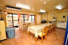 シェアハウスのラウンジの様子。(2009-01-16,共用部,LIVINGROOM,1F)