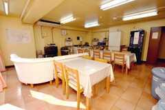 シェアハウスのラウンジの様子3。(2009-01-16,共用部,LIVINGROOM,1F)