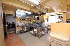 シェアハウスのキッチンの様子。(2009-01-16,共用部,KITCHEN,1F)