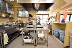シェアハウスのキッチンの様子2。(2009-01-16,共用部,KITCHEN,1F)