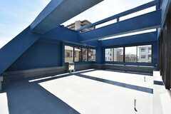 バルコニーの様子。廊下からもアクセスできます。(2016-05-17,共用部,OTHER,4F)