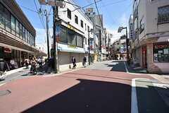 東武東上線・東武練馬駅前の商店街の様子2。(2016-05-17,共用部,ENVIRONMENT,1F)