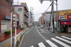 東武東上線成増駅からシェアハウスへ向かう道の様子。(2008-09-15,共用部,ENVIRONMENT,1F)