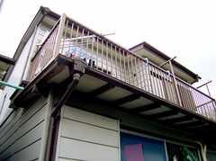 シェアハウス外観。(2006-06-15,共用部,OUTLOOK,1F)