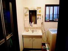 洗面台の様子。(2006-06-15,共用部,TOILET,1F)